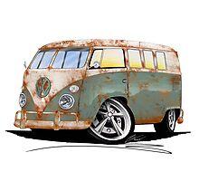 VW Splitty (11 Window) O Photographic Print