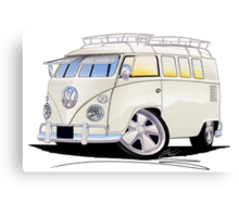 VW Splitty (11 Window) N Canvas Print