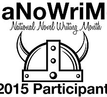 National Novel Writing Month - Viking by paperbouquet