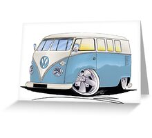 VW Splitty (11 Window) M Greeting Card