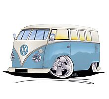 VW Splitty (11 Window) M Photographic Print