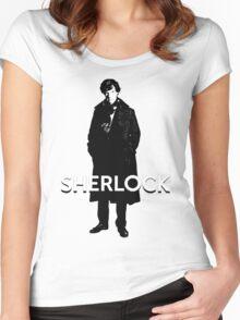 SHERLOCK - BBC Women's Fitted Scoop T-Shirt
