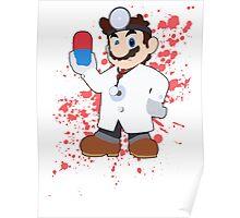 Dr Mario - Super Smash Bros Poster