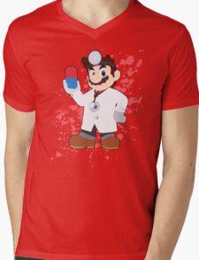 Dr Mario - Super Smash Bros Mens V-Neck T-Shirt