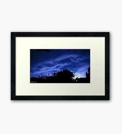 Lightning 2012 Collection 129 Framed Print
