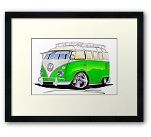 VW Splitty (11 Window) K Framed Print