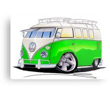VW Splitty (11 Window) K Metal Print