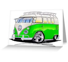 VW Splitty (11 Window) K Greeting Card