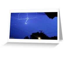 Lightning 2012 Collection 165 Greeting Card