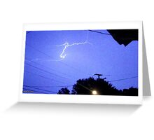 Lightning 2012 Collection 166 Greeting Card