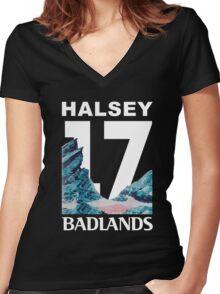 BADLANDS:05 Women's Fitted V-Neck T-Shirt