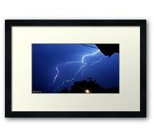 Lightning 2012 Collection 174 Framed Print