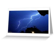 Lightning 2012 Collection 174 Greeting Card