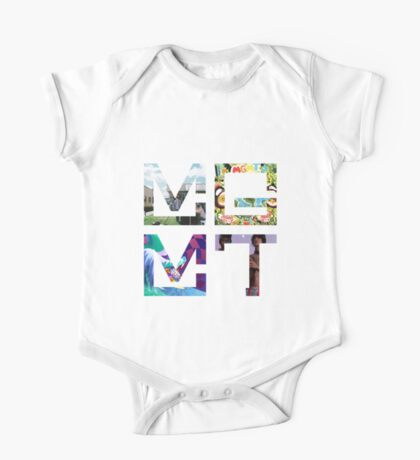 MGMT Albums One Piece - Short Sleeve