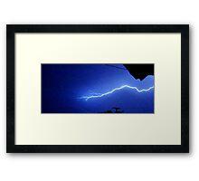 Lightning 2012 Collection 180 Framed Print