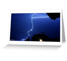 Lightning 2012 Collection 183 Greeting Card