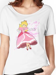 Peach - Super Smash Bros Women's Relaxed Fit T-Shirt