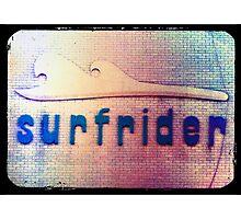 retro surfrider Photographic Print