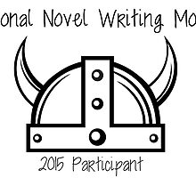 National Novel Writing Month - Viking 2 by paperbouquet