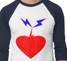 ۞»♥A Heart Struck by Lightning Clothing & Stickers♥«۞ Men's Baseball ¾ T-Shirt