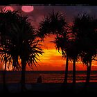 tropical sunset by geophotographic
