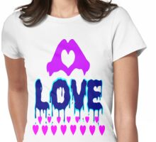 ۞»♥A Bleeding Passionate Love Clothing & Stickers♥«۞ Womens Fitted T-Shirt