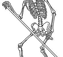 Death Tarot Card by Rachel Sample
