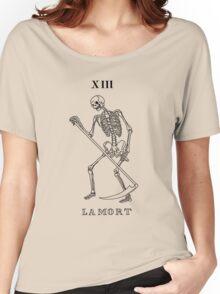 Death Tarot Card Women's Relaxed Fit T-Shirt