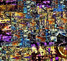 Abstract Assemblage 1 by Richard  Tuvey