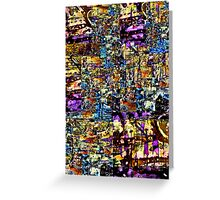 Abstract Assemblage 1 Greeting Card