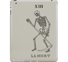 Death Tarot Card iPad Case/Skin