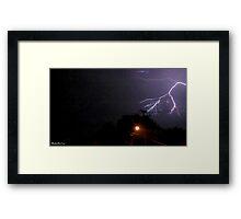 Lightning 2012 Collection 198 Framed Print