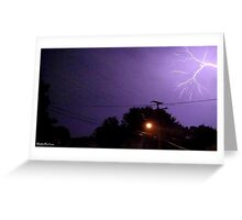 Lightning 2012 Collection 199 Greeting Card