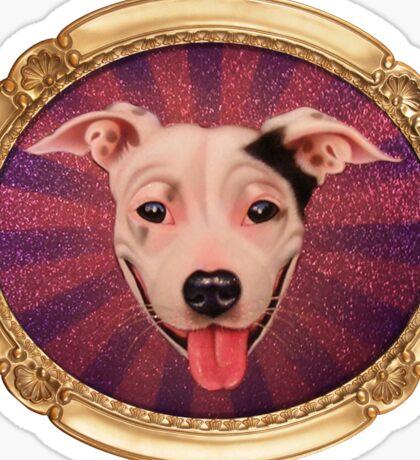 Jimmy Sue (Gold Frame) Sticker