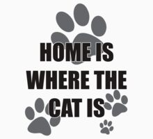Home is Where the Cat is by credbubble