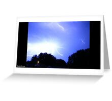 Lightning 2012 Collection 225 Greeting Card