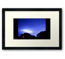 Lightning 2012 Collection 229 Framed Print