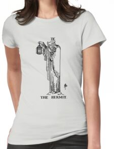 The Hermit Tarot Card Womens Fitted T-Shirt
