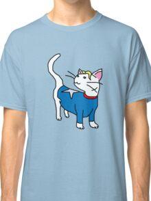 Captain America Kitty Classic T-Shirt
