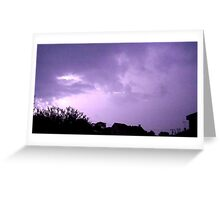 Lightning 2012 Collection 245 Greeting Card