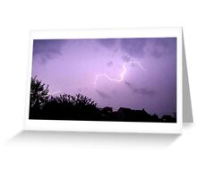 Lightning 2012 Collection 249 Greeting Card