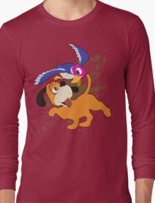 Duck Hunt Duo - Super Smash Bros Long Sleeve T-Shirt