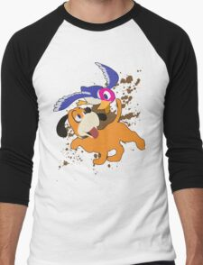 Duck Hunt Duo - Super Smash Bros Men's Baseball ¾ T-Shirt