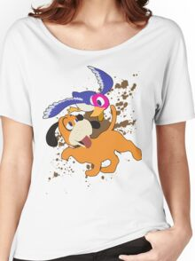 Duck Hunt Duo - Super Smash Bros Women's Relaxed Fit T-Shirt
