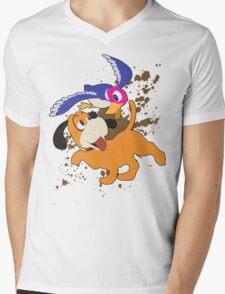 Duck Hunt Duo - Super Smash Bros Mens V-Neck T-Shirt