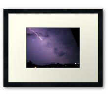 Lightning 2012 Collection 264 Framed Print