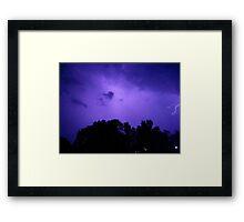 Lightning 2012 Collection 281 Framed Print