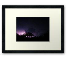 Lightning 2012 Collection 284 Framed Print
