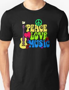Peace Love and Music T-Shirt