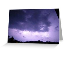 Lightning 2012 Collection 291 Greeting Card
